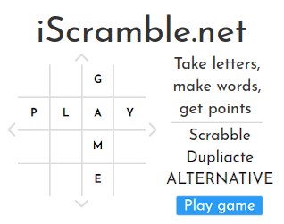 Scrabble Duplicate alternative